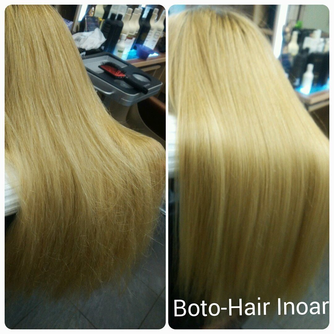 Иноар ботокс для волос видео